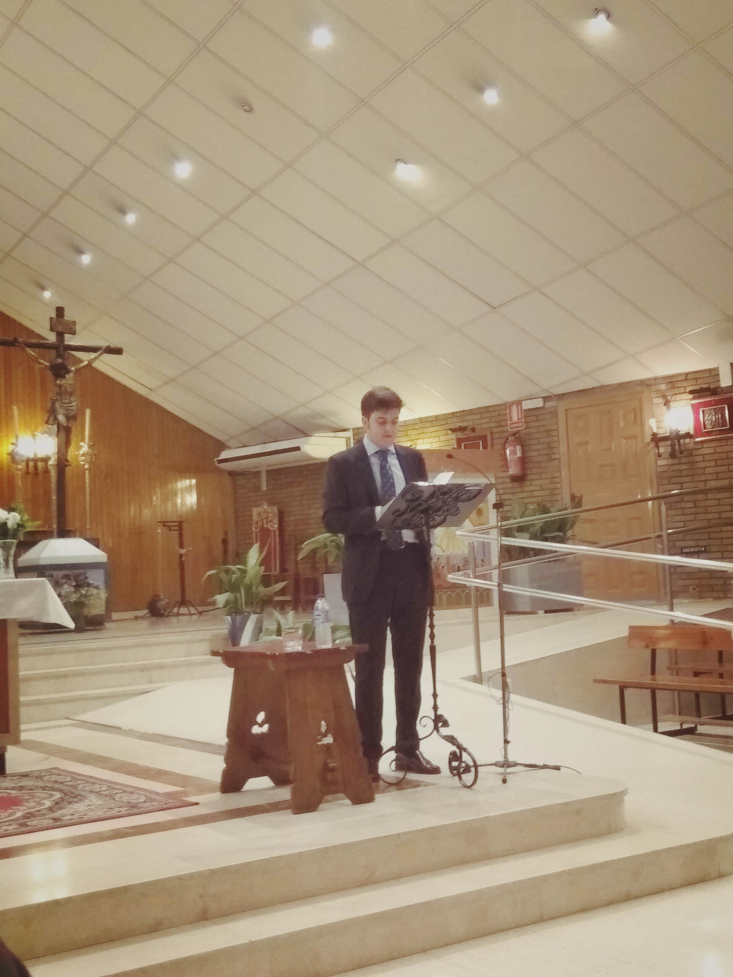 Manuel Lamprea nos iluminó con sus versos